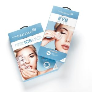 Combo Pack: Little Eskimo Face Mask and Eye Mask