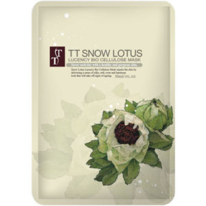 TT Snow Lotus Lucency Bio Cellulose Mask