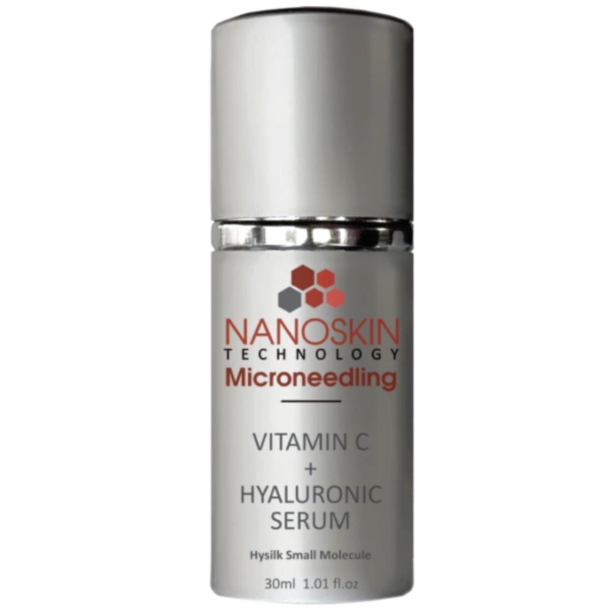 Nanoskin Microneedling Vitamin C & Hyaluronic Serum 30ml