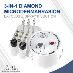 3 in 1 Diamond Microdermabrasion
