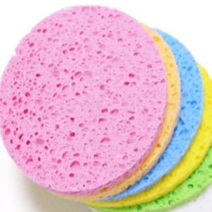 Cellulose facial sponge