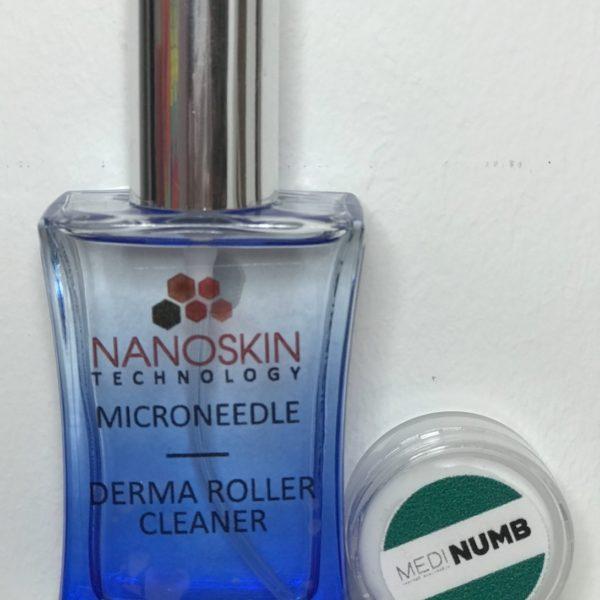 Derma Roller Cleanser set