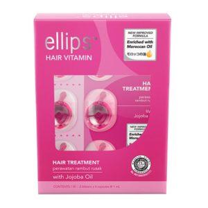 ellips Hair Treatment Pink Repair (Box of 12)